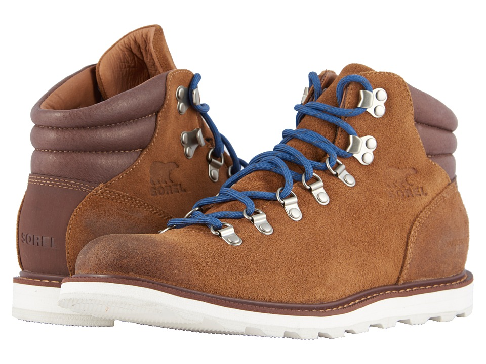 SOREL - Madson Hiker Waterproof (Camel Brown) Mens Waterproof Boots