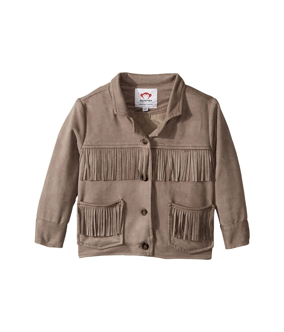 Appaman Kids - Ultra Soft Faux Suede Fringe Jacket
