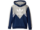 adidas Originals Kids Zigzag Trefoil Hoodie (Little Kids/Big Kids)