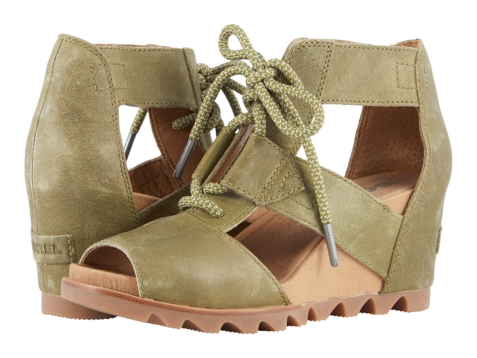 SOREL - Joanie Lace (Olive Drab) Womens Boots