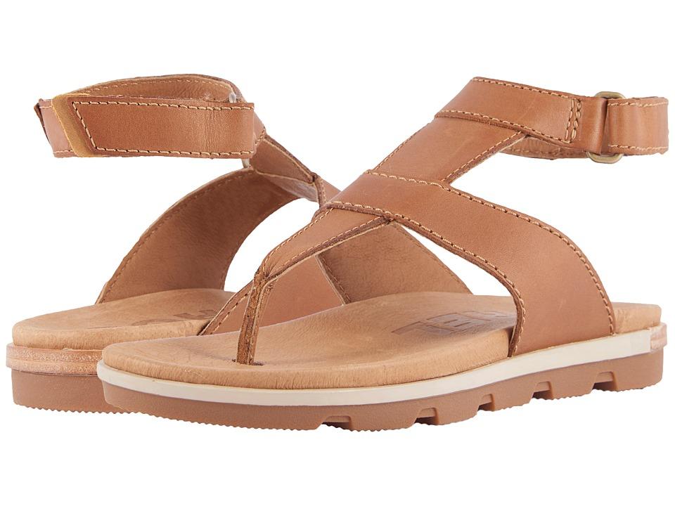 SOREL - Torpeda Ankle Strap (Camel Brown) Womens Shoes
