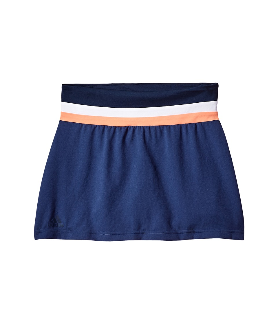 adidas Kids - Club Skirt (Little Kids/Big Kids) (Collegiate Navy) Girls Skort