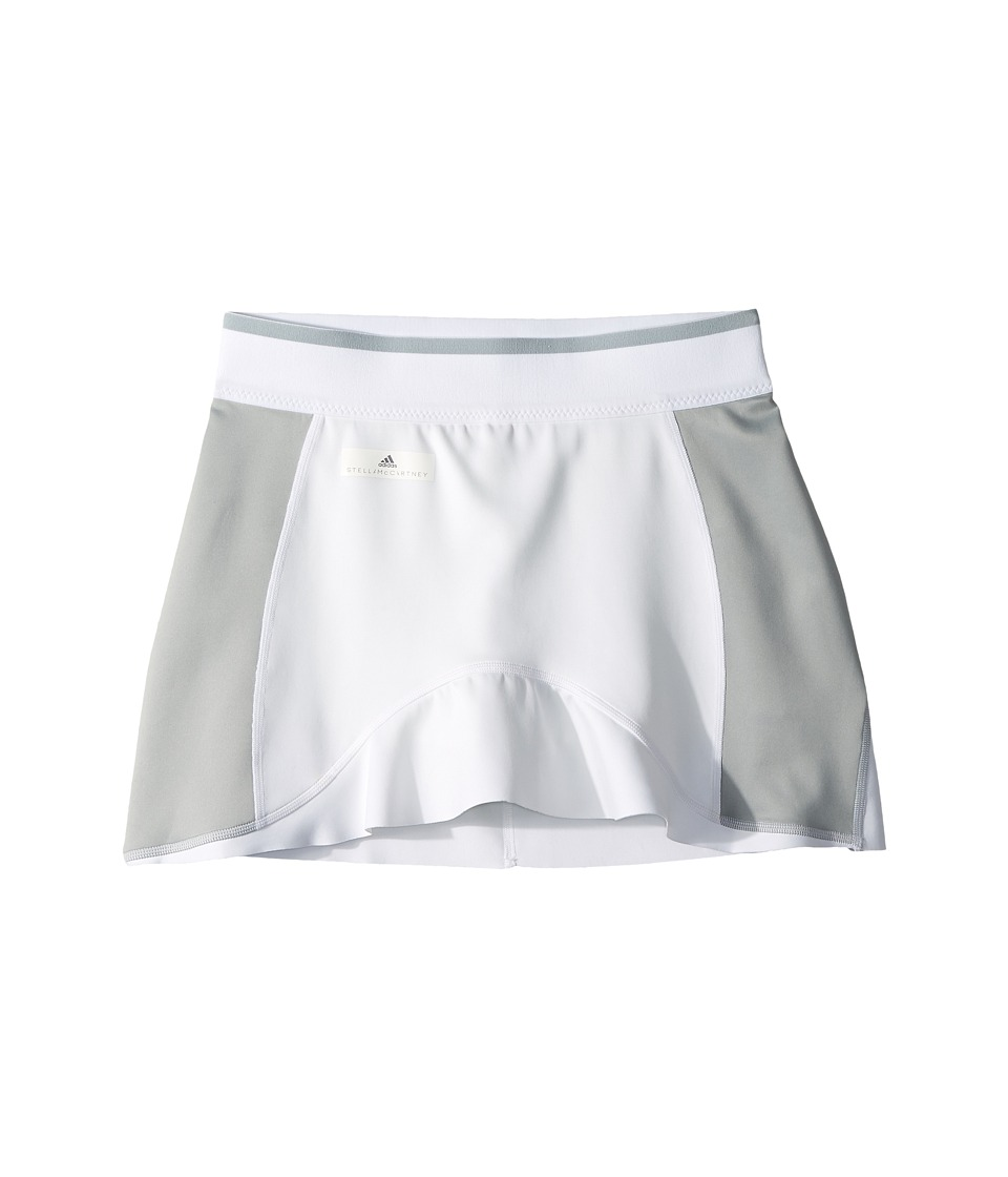 adidas Kids - Stella McCartney Barricade Skirt (Little Kids/Big Kids) (White) Girls Skort