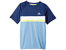 adidas Kids adidas Kids Club Color Block Tee (Little Kids/Big Kids)