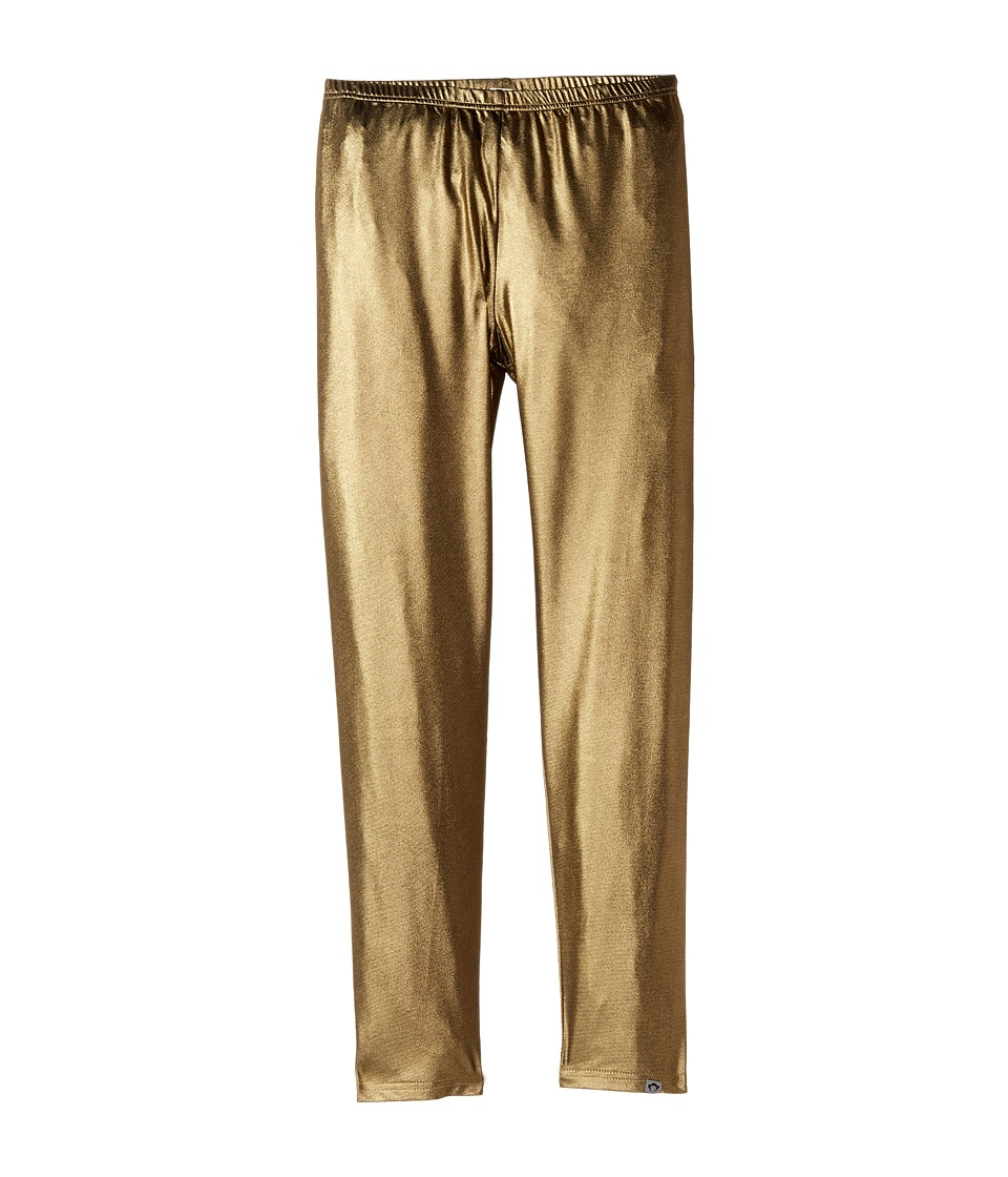 Appaman Kids - Stretchy Metallic Gold Leggings