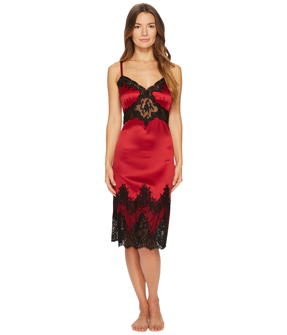 Dolce & Gabbana Silk with Lace Nightgown Sottoveste (Vina...