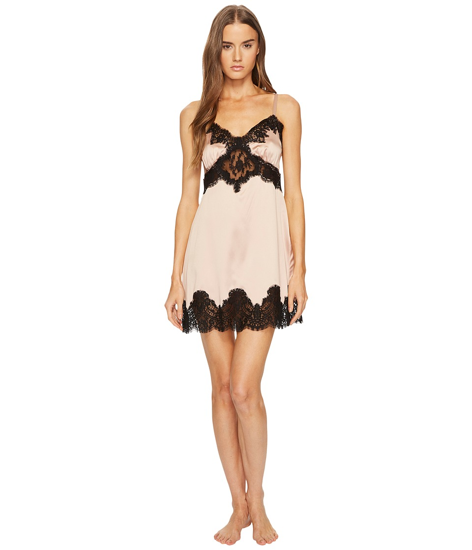Dolce & Gabbana Silk with Lace Nightgown Sottoveste (Cipr...