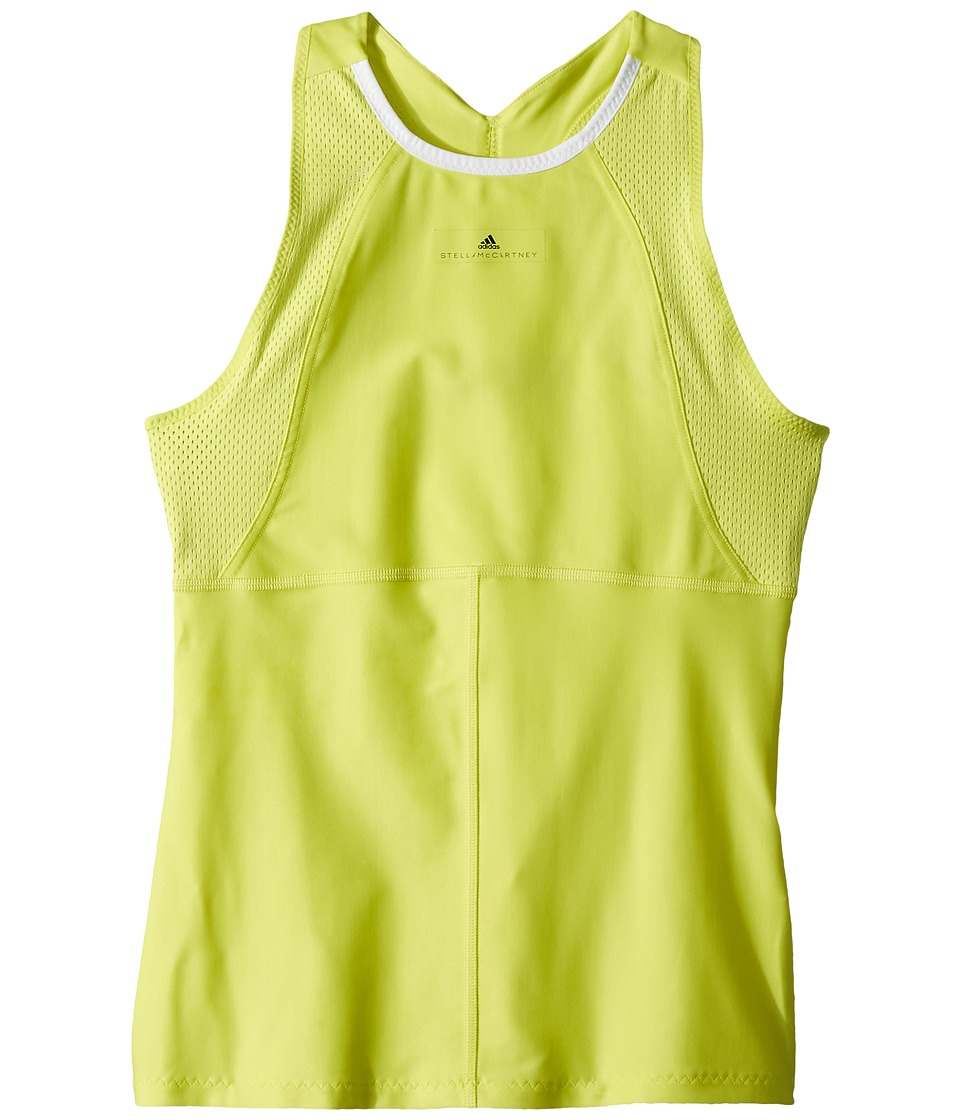 adidas Kids - Stella McCartney Barricade Tank Top (Little Kids/Big Kids) (Aero Lime) Girls Sleeveless