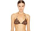 Dolce & Gabbana Cheetah Triangle Bikini Top