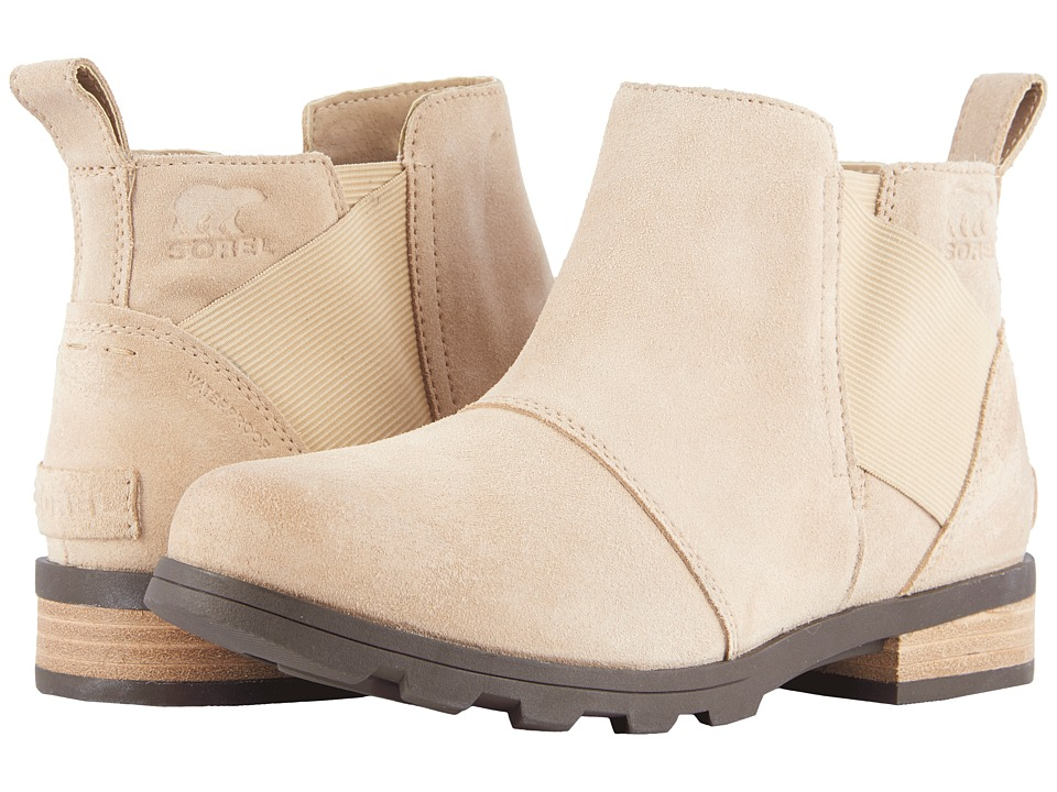 SOREL - Emelie Chelsea (Oatmeal) Womens Waterproof Boots