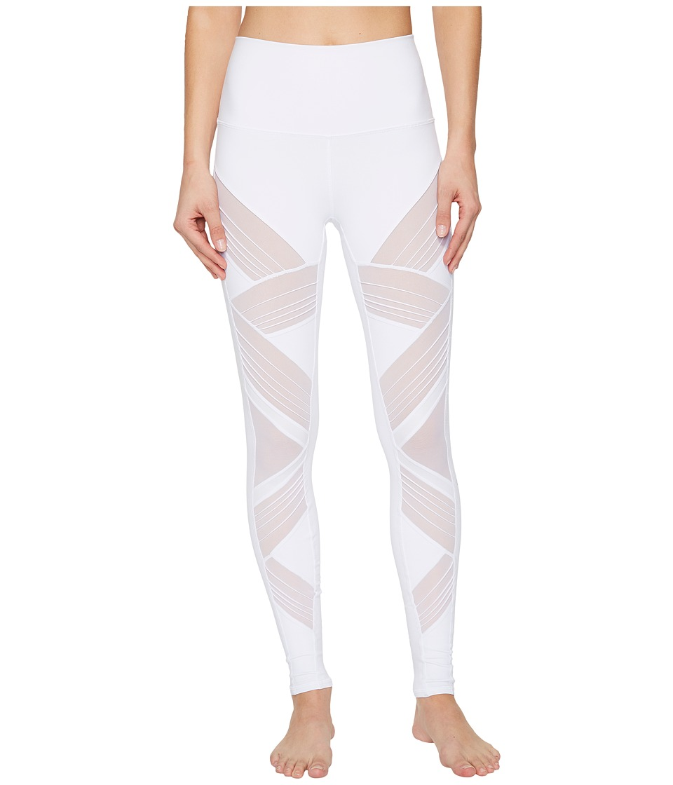 Alo Ultimate High Waist Leggings (White) Women's Casual P...