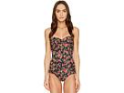Dolce & Gabbana Floral Cami Strap Maillot Swim One-Piece