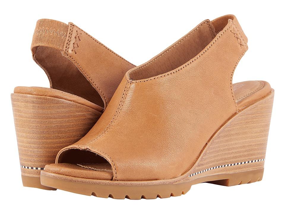 SOREL - After Hours Slingback (Camel Brown) Womens Sling Back Shoes
