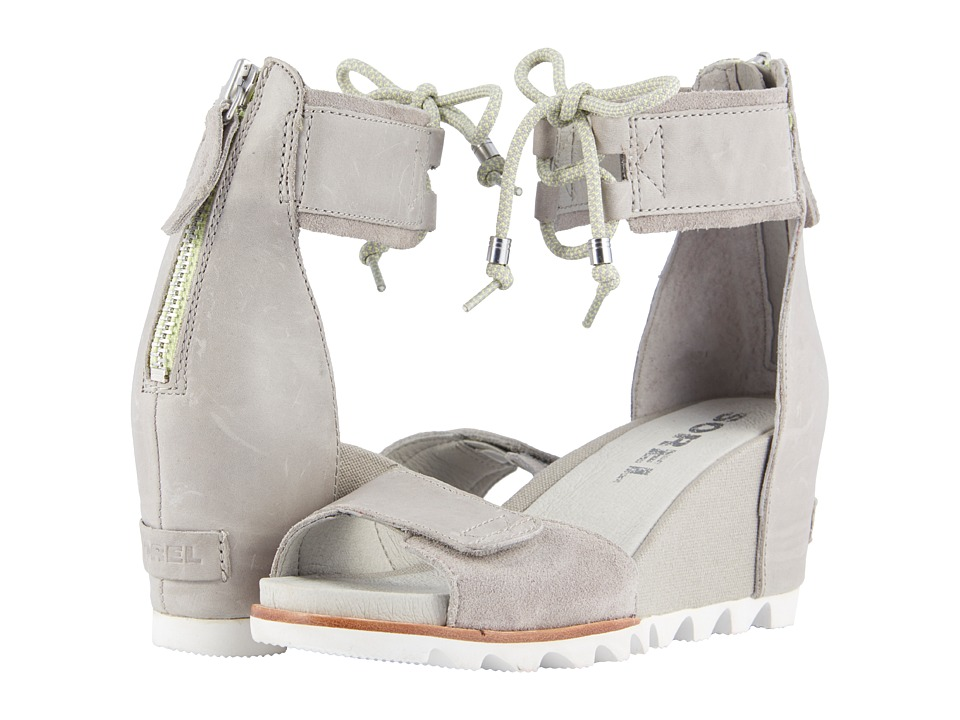 SOREL - Joanie Ankle Lace (Dove) Womens Shoes
