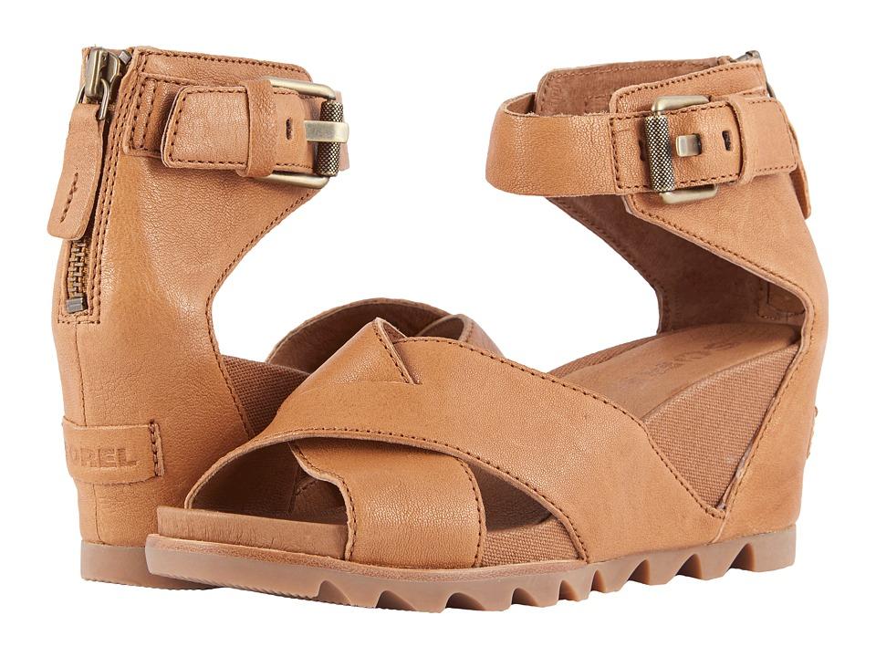 SOREL - Joanie Sandal II (Camel Brown) Womens Sandals