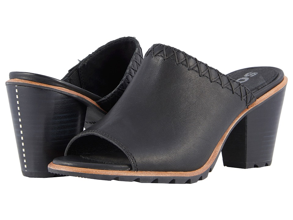 SOREL - Nadia Mule (Black) Womens Clog/Mule Shoes