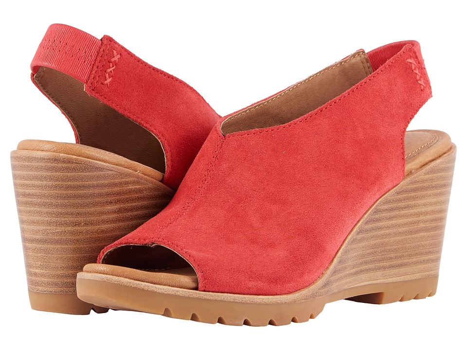 SOREL After Hours Slingback (Bright Red) Slingbacks