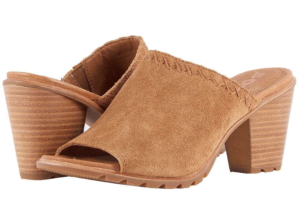 SOREL Nadia Mule (Camel Brown) Women's Clog/Mule Shoes