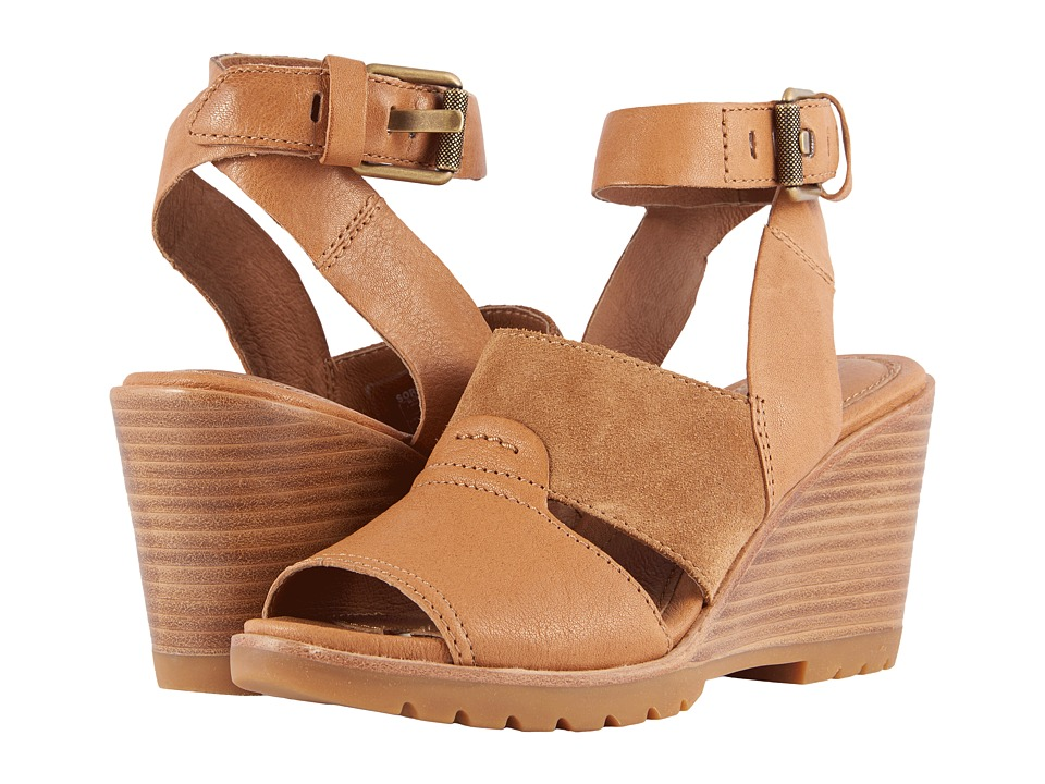 SOREL After Hours Sandal (Camel Brown) Sandals