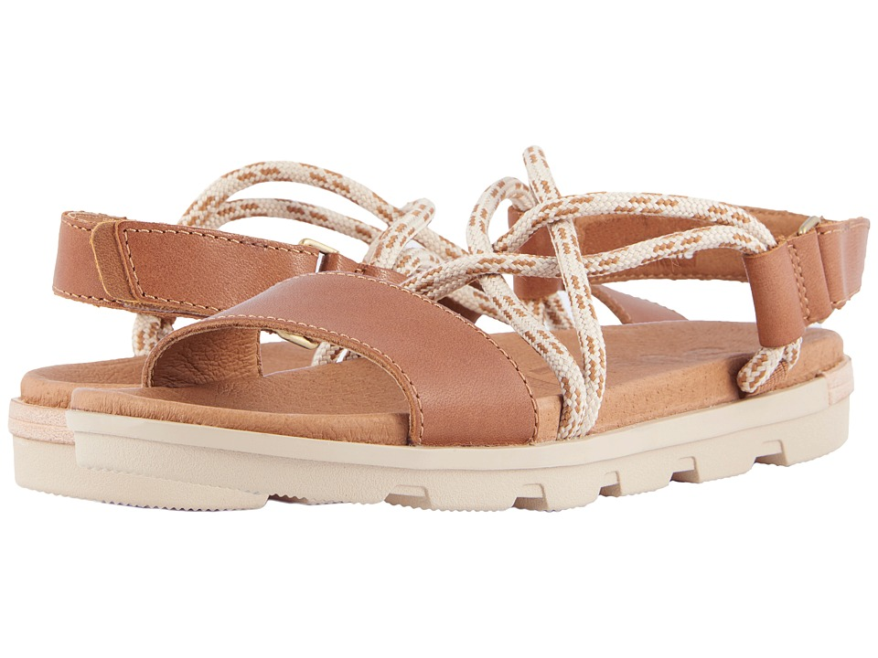 SOREL - Torpeda Sandal II (Camel Brown) Womens Sandals
