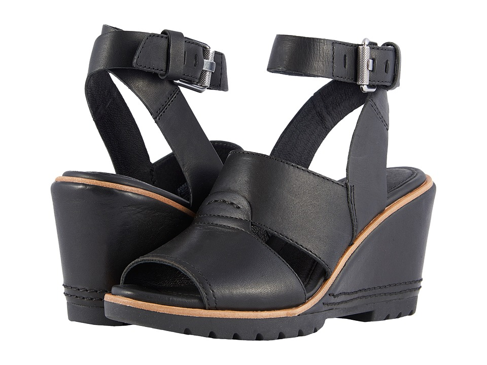SOREL After Hours Sandal (Black 1) Sandals