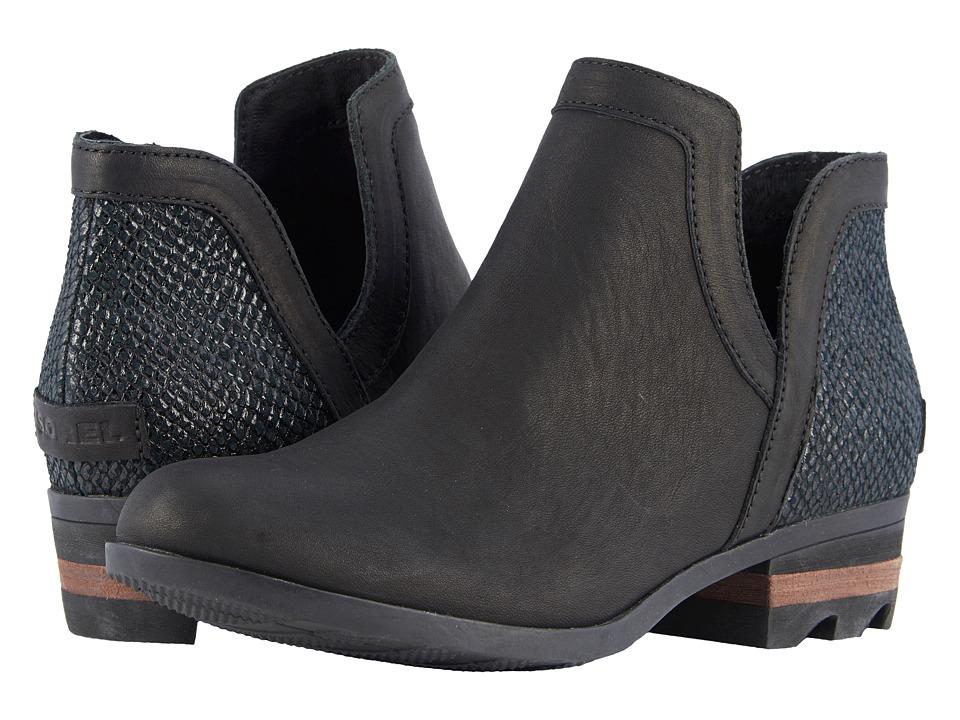 SOREL - Lolla Cut Out (Black) Womens Shoes