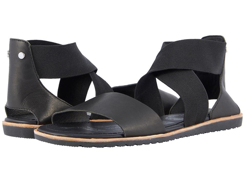 SOREL - Ella Sandal (Black) Womens Sandals