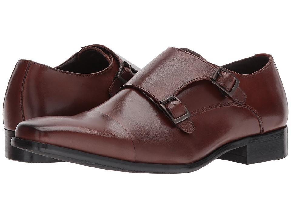 Kenneth Cole Reaction - Design 20724 (Cognac) Mens Slip-on Dress Shoes