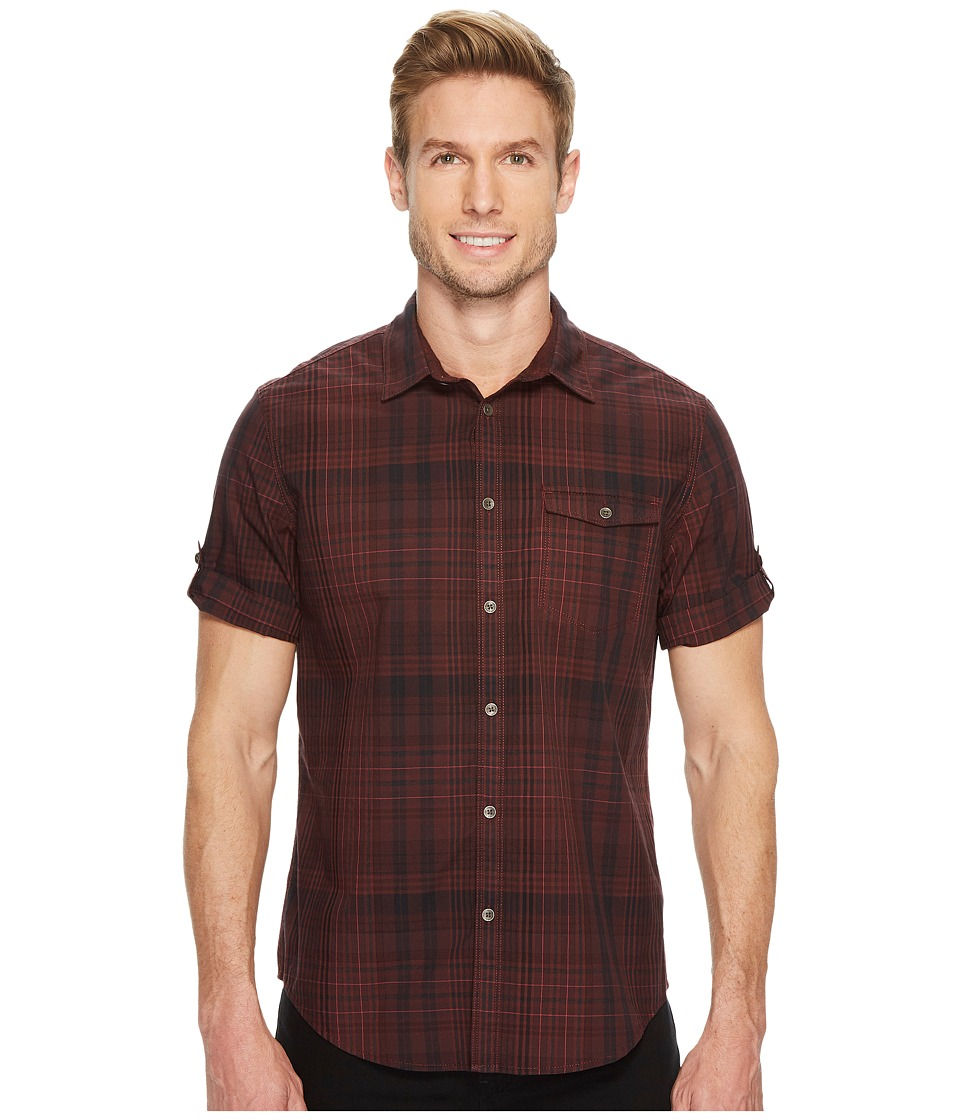 Calvin Klein Jeans - Short Sleeve Plaid Button Down Shirt
