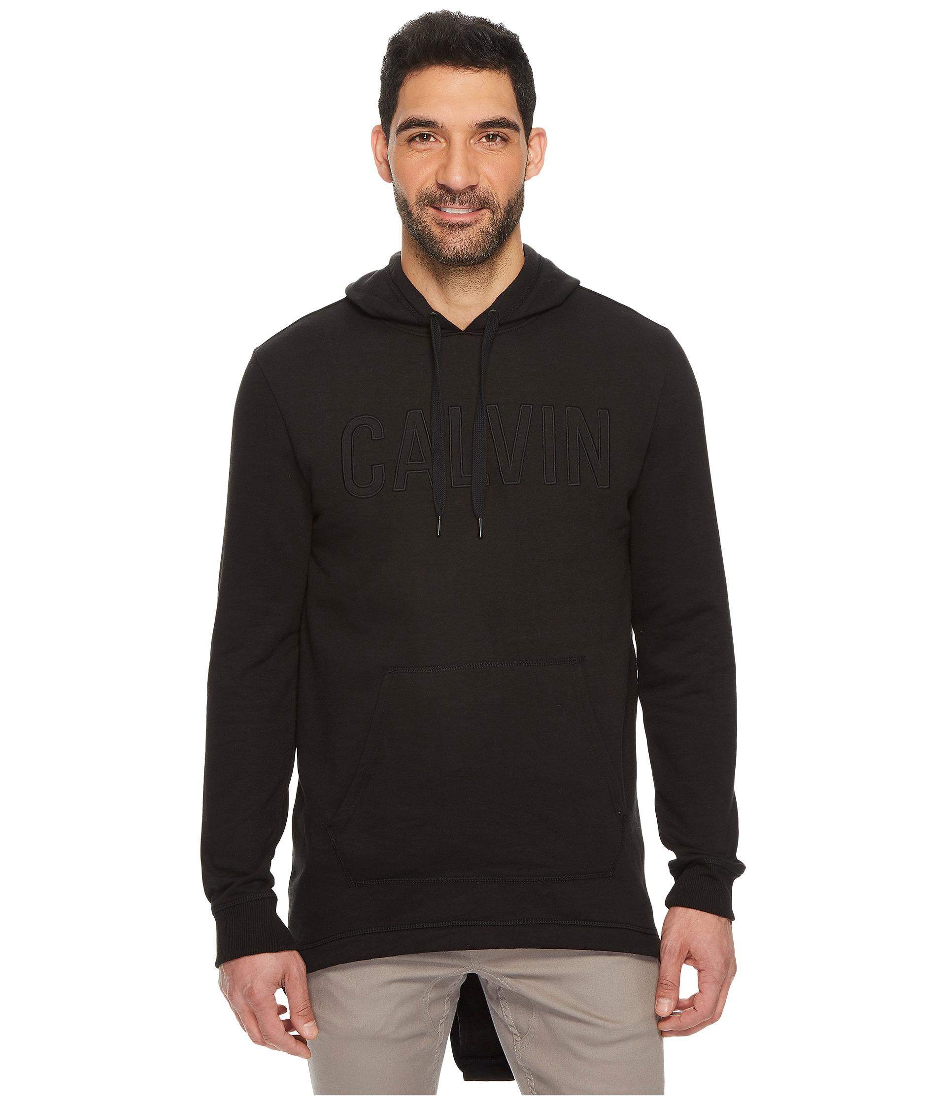 calvin klein jeans fishtail parka hem pullover hoodie at. Black Bedroom Furniture Sets. Home Design Ideas