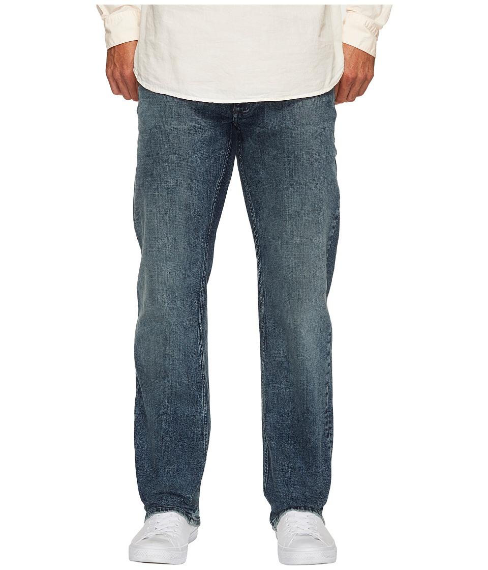Calvin Klein Jeans Straight Leg Jeans in Atlas Blue (Atlas Blue) Men