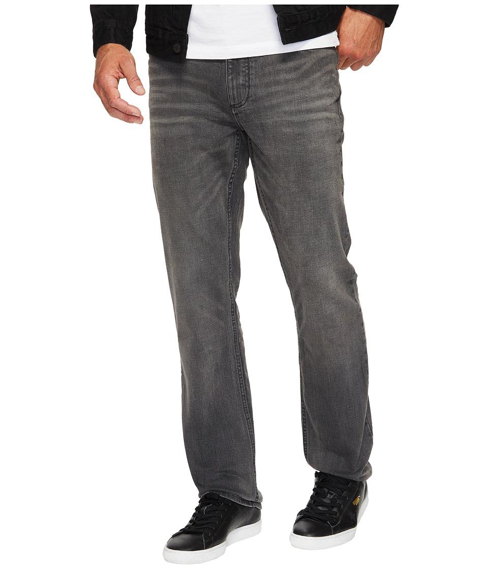 Calvin Klein Jeans Slim Straight Jeans in Lead Black (Lead Black) Men