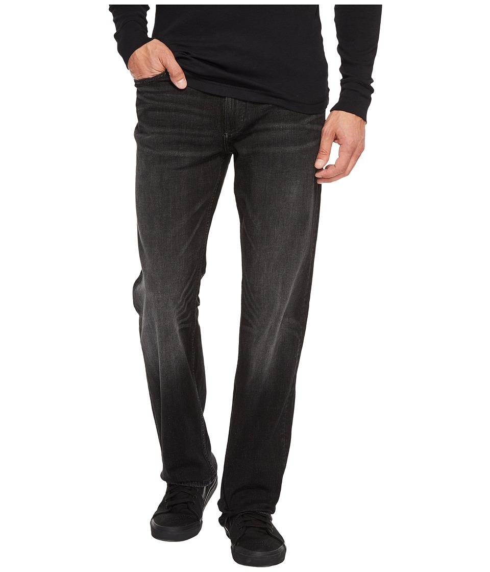 Calvin Klein Jeans Straight Leg Jeans in Black Lightning (Black Lightning) Men