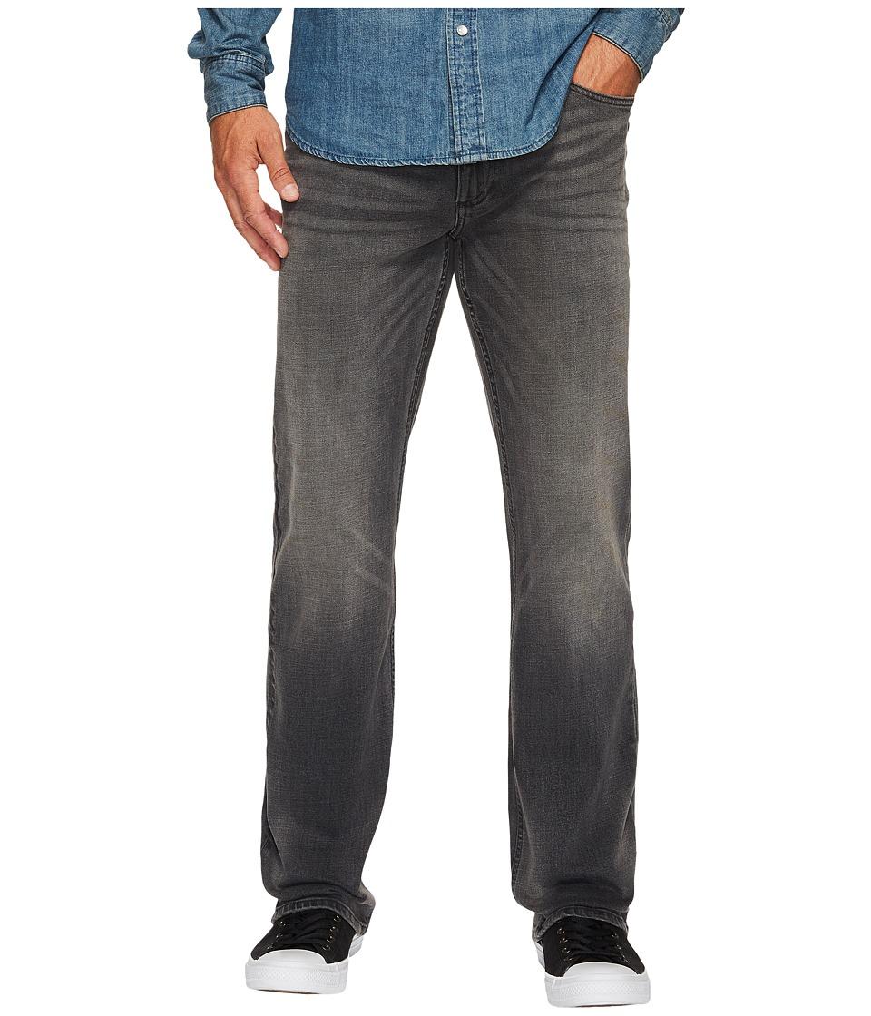 Calvin Klein Jeans Straight Leg Jeans in Lead Black (Lead Black) Men