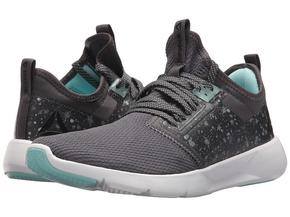 Reebok - Reebok Plus Lite 2.0 (ASH==sh Grey/Blue Lagoon/Black/White) Womens Shoes