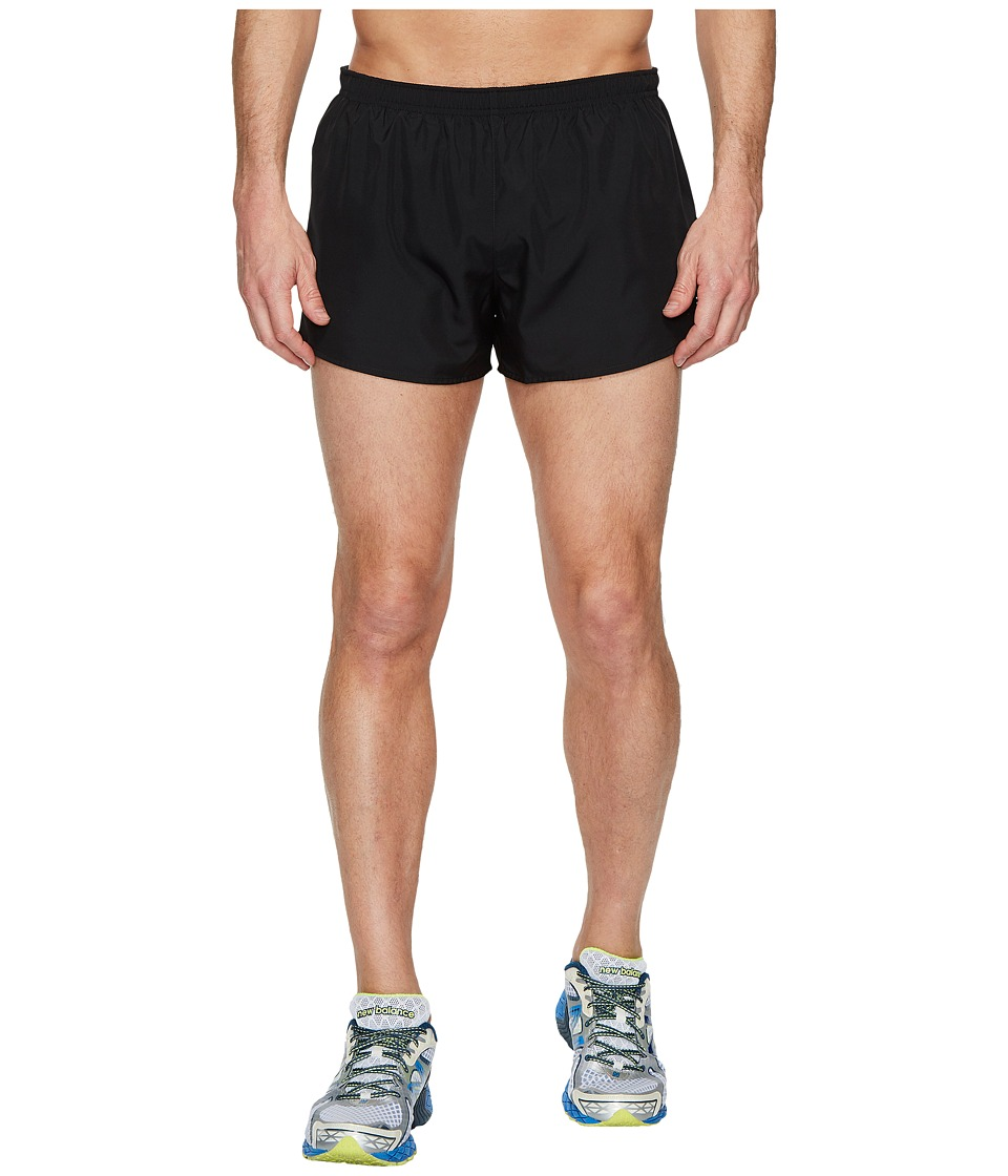 New Balance - Accelerate 3 Split Shorts (Black) Mens Shorts