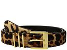LAUREN Ralph Lauren Haircalf Triple Keeper Belt