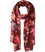 Bindya - Cashmere/Silk Floral Mixed Print Scarf