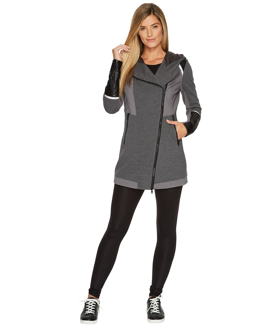 Blanc Noir Update Traveler Jacket (Charcoal) Women