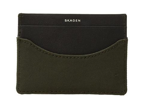 Skagen Card Case - Dark Green