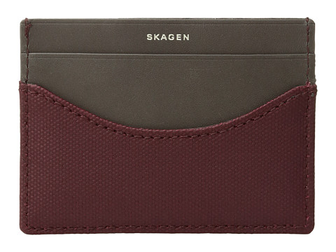 Skagen Card Case - Cordovan