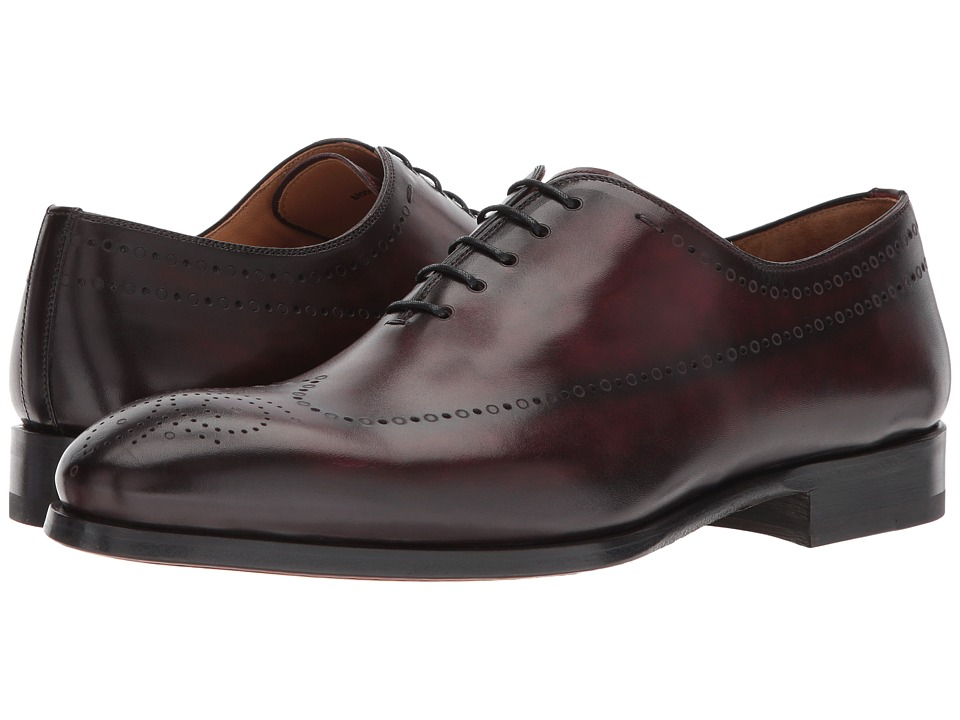 Magnanni - Stone (Burgundy) Mens Shoes