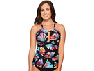 La Blanca Your Number One Fan Hi-Neck Tankini D-DD-E Cup