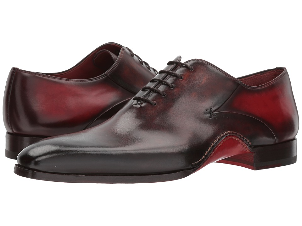 Magnanni - Cantabria (Brown/Red) Mens Shoes