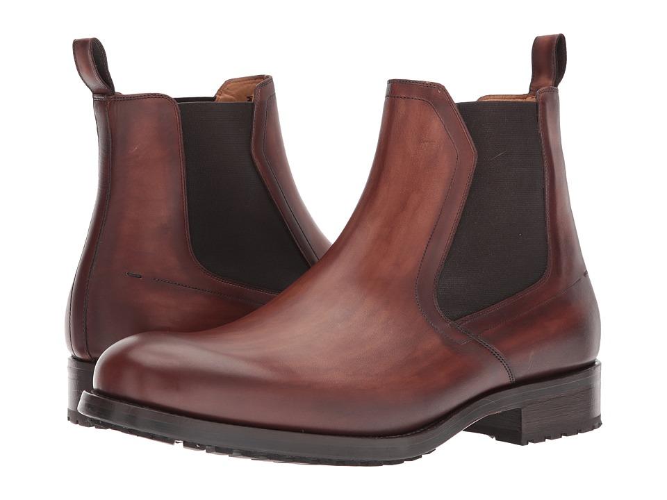Magnanni - Julian (Mid Brown) Mens Shoes