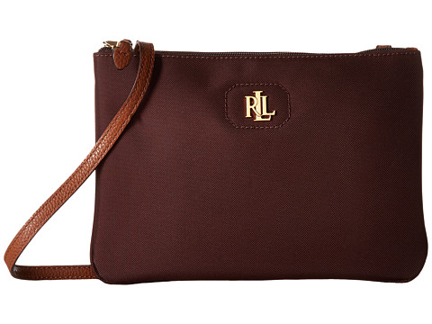 LAUREN Ralph Lauren Bainbridge Tara Crossbody - Port