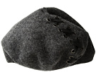 Steve Madden Laced-Up Ribbon Wool Beret