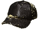 Steve Madden Double Take Flip Sequin Baseball Cap