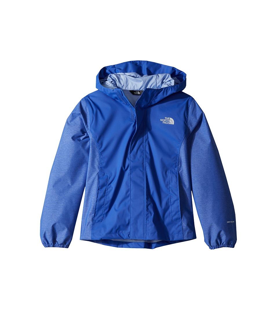 The North Face Kids Resolve Reflective Jacket (Little Kids/Big Kids) (Dazzling Blue) Girl