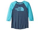 The North Face Kids The North Face Kids Tri-Blend 3/4 Sleeve Tee (Little Kids/Big Kids)
